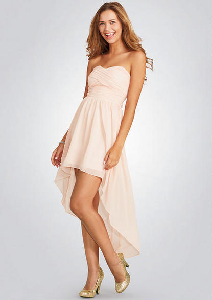 Delias Pleated High Low Dress $69