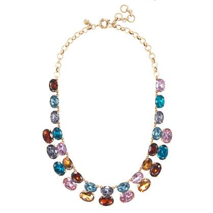 Gem Stack Necklace $98