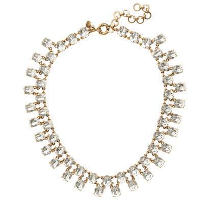 Double-Row Crystal Necklace