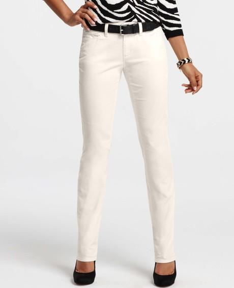 Ann Taylor Modern Slim Corduroy Pants $89