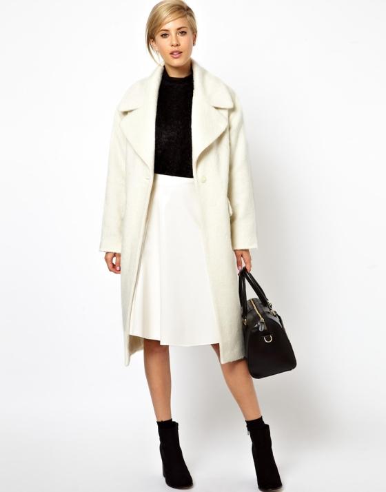 ASOS Vintage Style Cocoon Coat $200