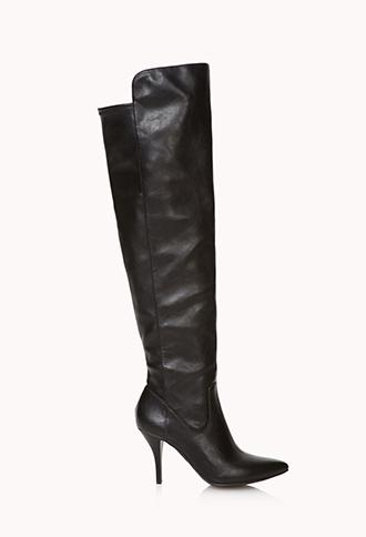 Forever 21 Bombshell Over-the-Knee Boots $45