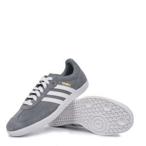 adidas samba grey suede shoes