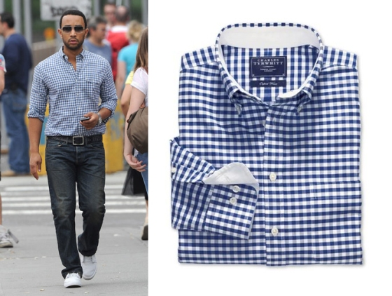 gingham-shirt